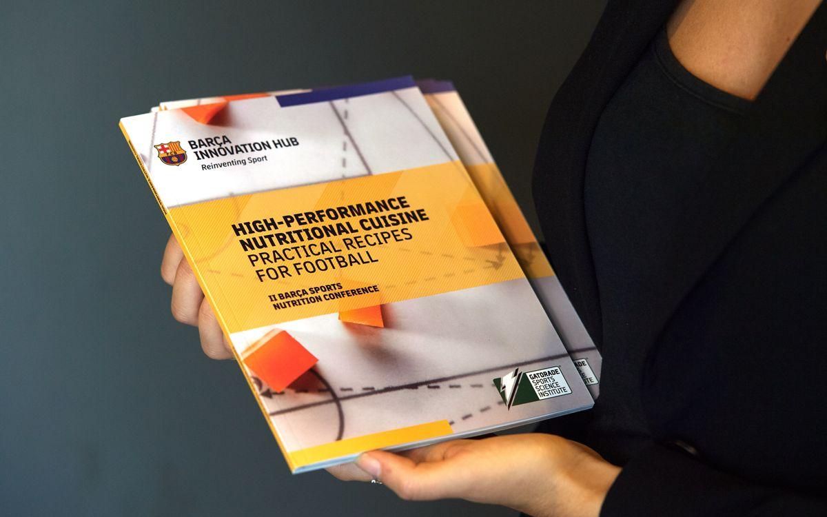 El BIHUB presenta un libro firmado por los nutricionistas del Club con recetas que se sirven a los deportistas azulgrana