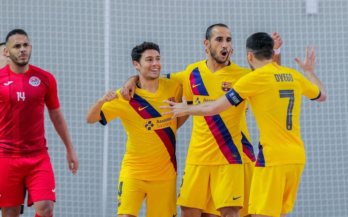 Ayat 1-7 Barça: Through to the Elite Round