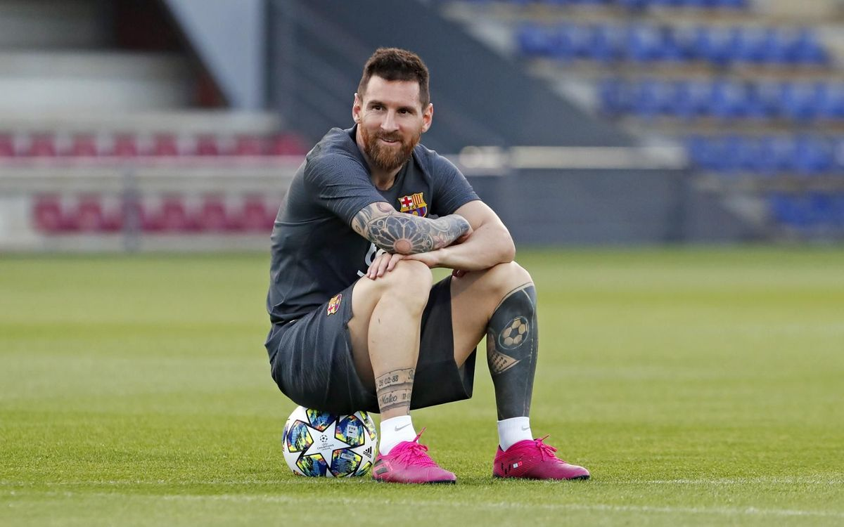 Messi : 'Terminer ma carrière au Barça'