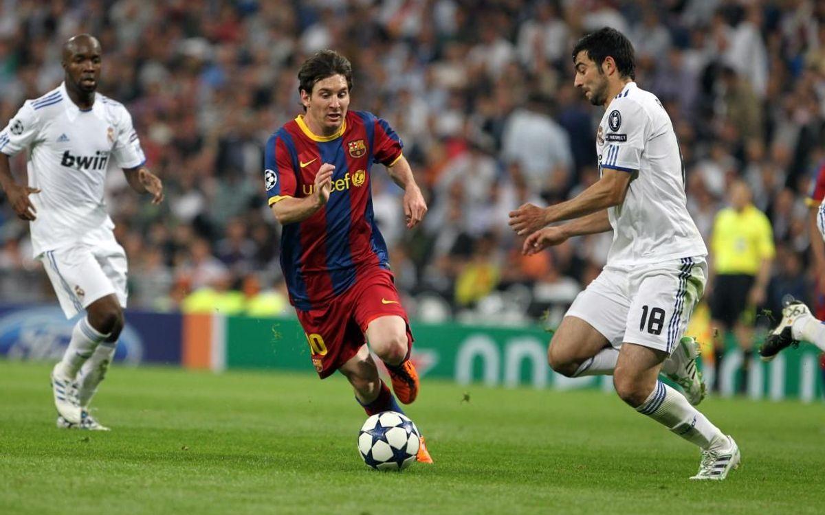 El 0-2 de Champions en el Bernabéu, el mejor partido de Messi