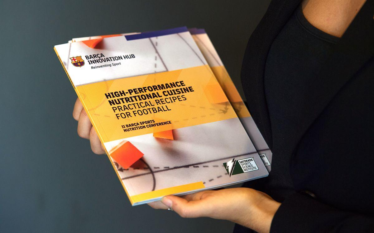 El BIHUB presenta un llibre signat pels nutricionistes del Club amb receptes que es serveixen al esportistes blaugrana
