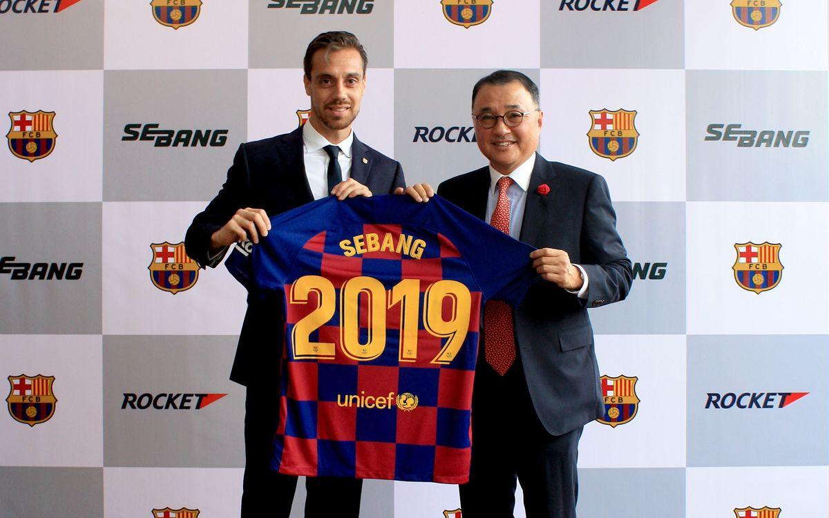 FC Barcelona and Sebang Global Battery announce regional partnership