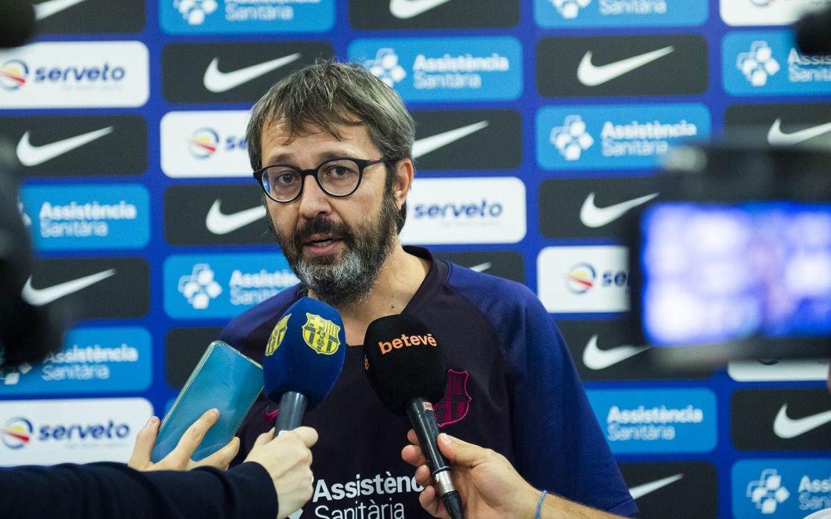 Barça – Recam Làser Caldes: L'exigència d'una final recent