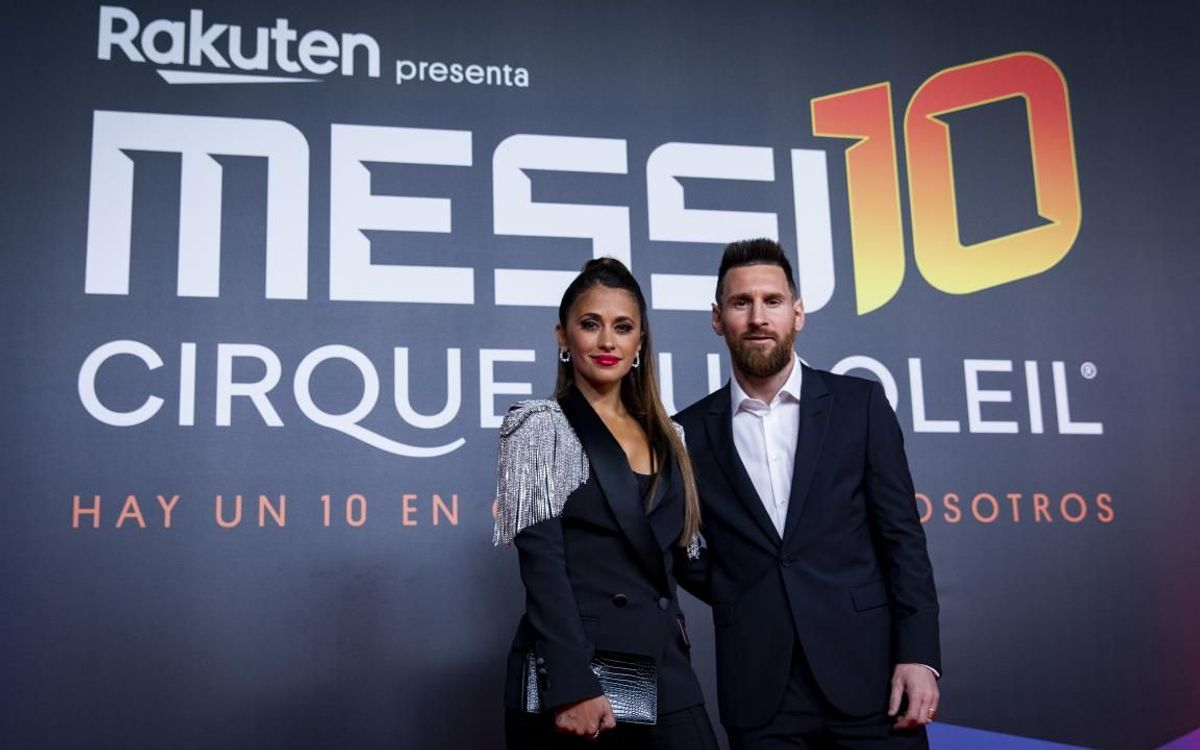Barcelona hosts the world premiere of 'Messi10'