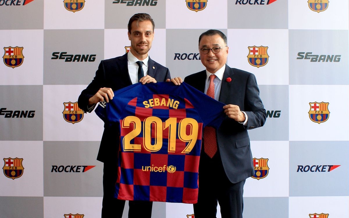El FC Barcelona incorpora a Sebang Global Battery como nuevo patrocinador regional
