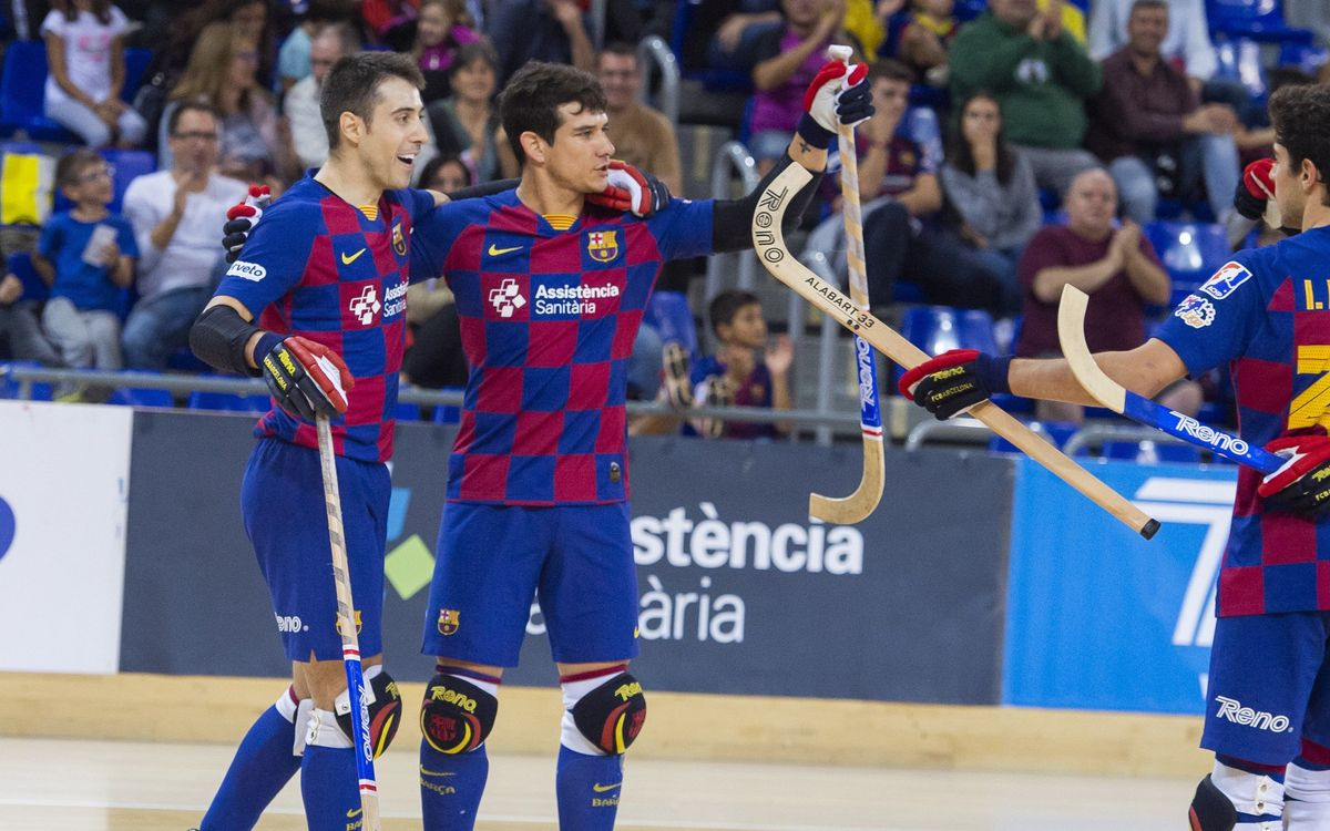 Barça - Recam Làser Caldes: Infinitat de recursos ofensius (8-1)