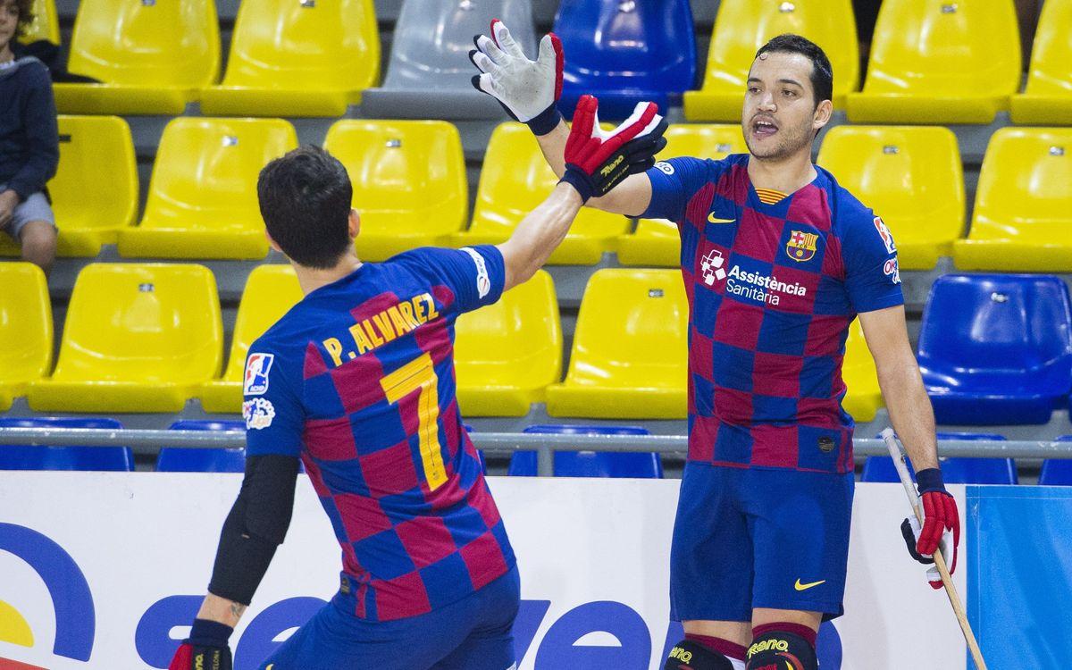 Barça 8-1 Recam Làser Caldes: A deserved win