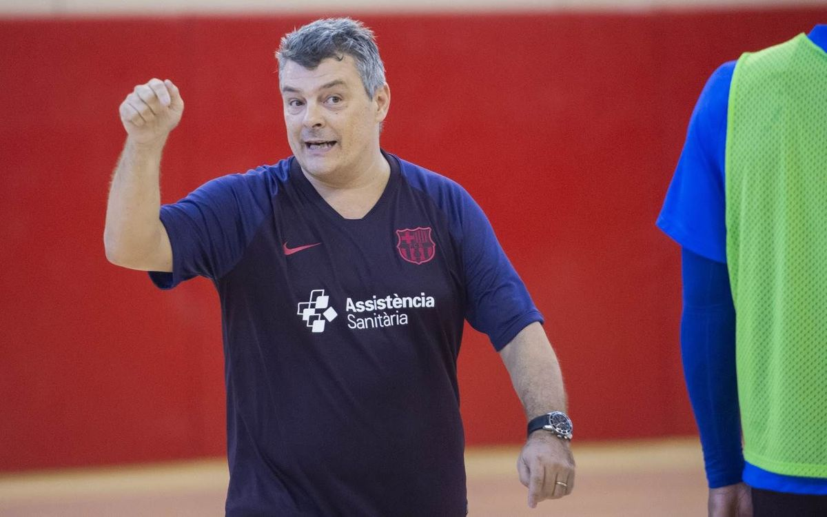 """Xavi Pascual: """"L'Elverum és un equip especial i juga sense pressió"""""""
