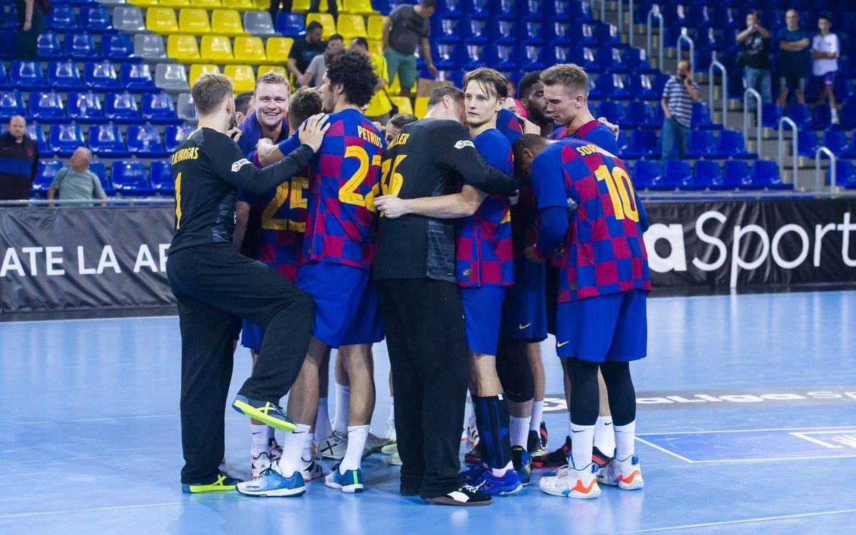 Barça – Elverum Handball: La Champions requereix els cinc sentits