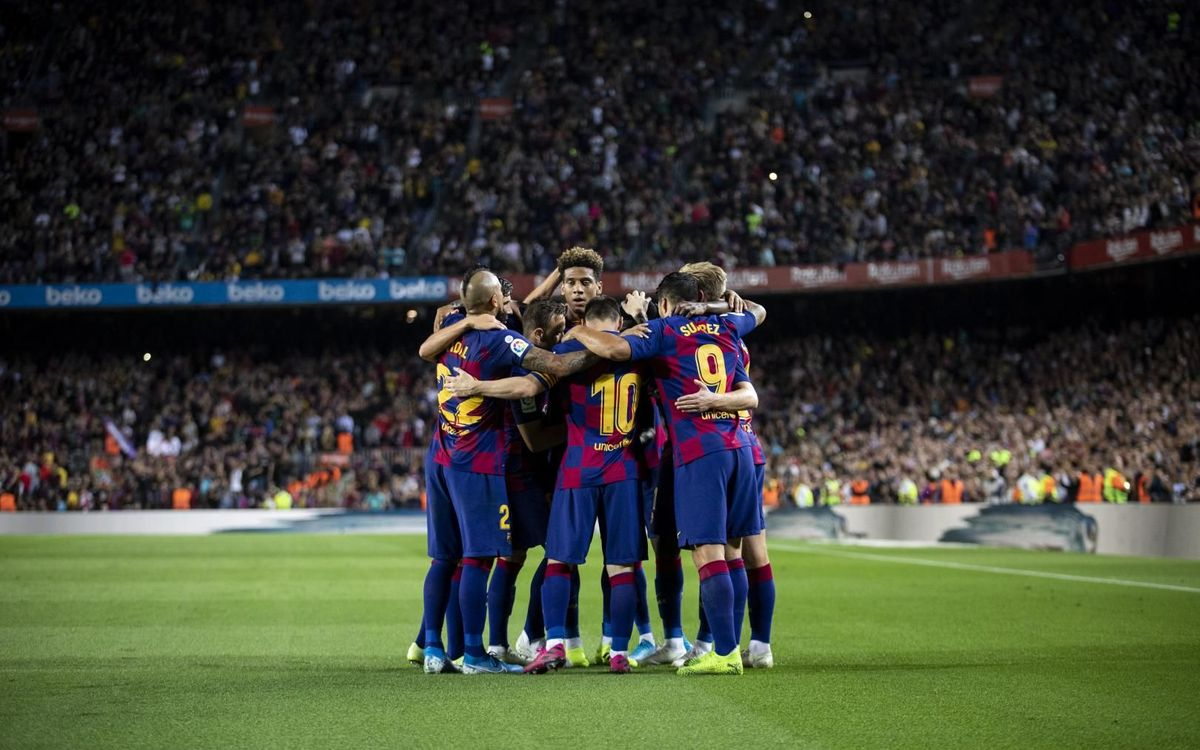El Camp Nou, un fortín - MIGUEL RUIZ-FCB