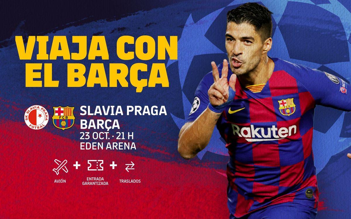 Viaja a la Champions con FC Barcelona Desplaçaments