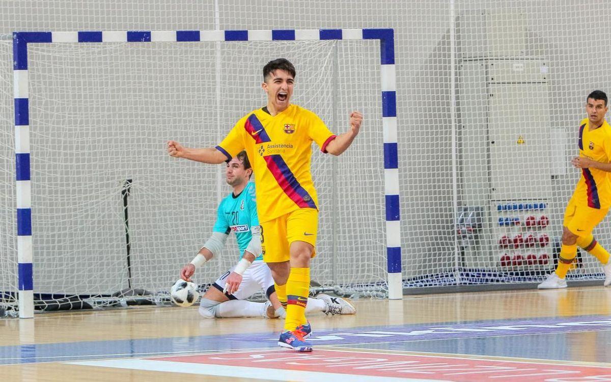 Vytis – Barça: Els culers llueixen el planter a Europa (0-8)