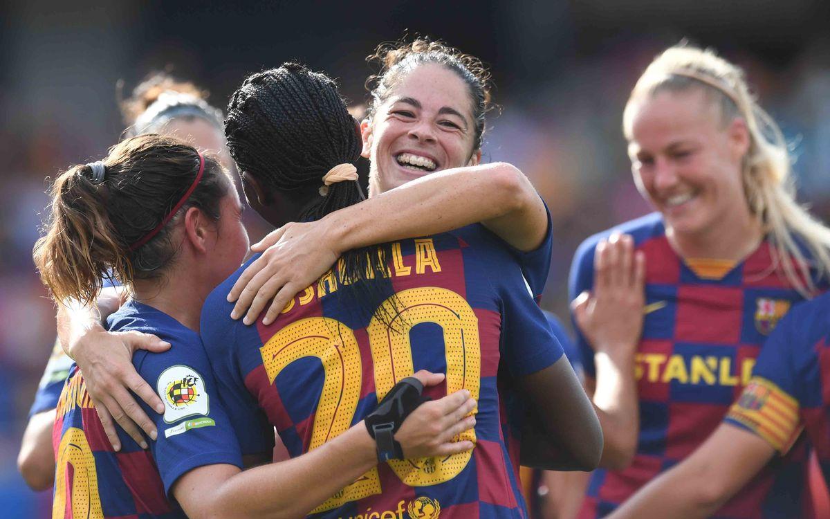 Sporting Huelva - Barça Femenino (previa): Escollos conocidos