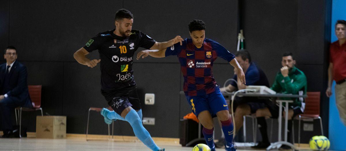 Barça B – Software DELSOL Mengíbar (1-3): La sort no acompanya