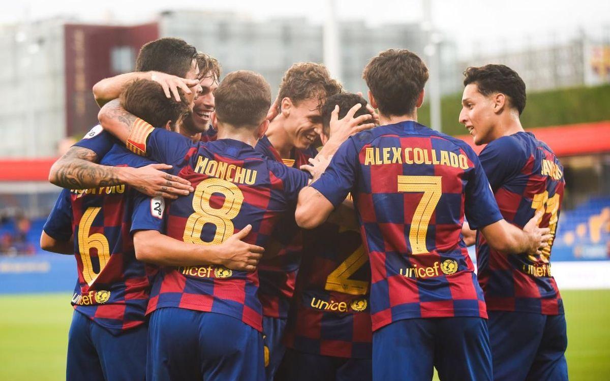 Barça B – Orihuela: Golejada per esvair dubtes (3-0)