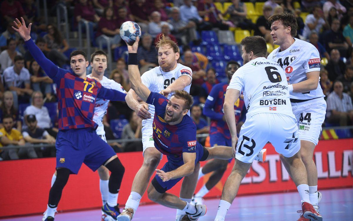 Barça - Elverum Handball: Triunfo europeo trabajado decidido en la segunda mitad (33-24)