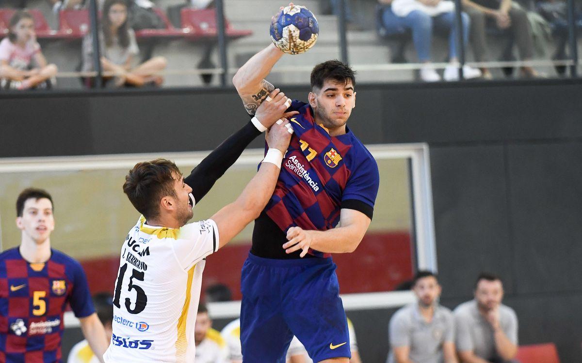 Barça B – Vestas Alarcos Ciudad Real (35-29): Solvència blaugrana