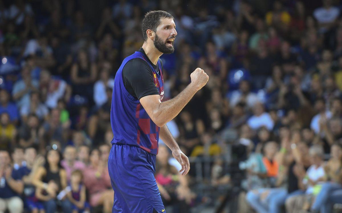 Barça - Valencia Basket: Mirotic lidera el triunfo en un duelo vibrante (97-94)