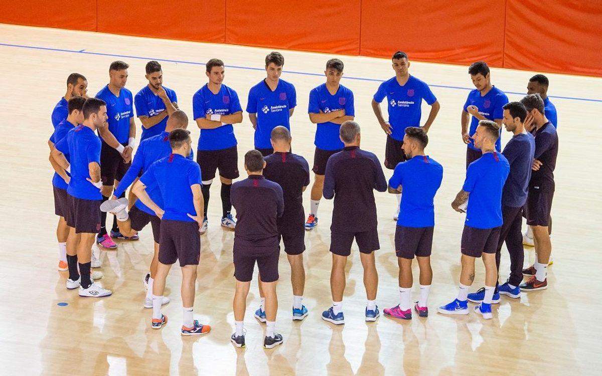 Vuelta a la actividad pensando en el Palma Futsal
