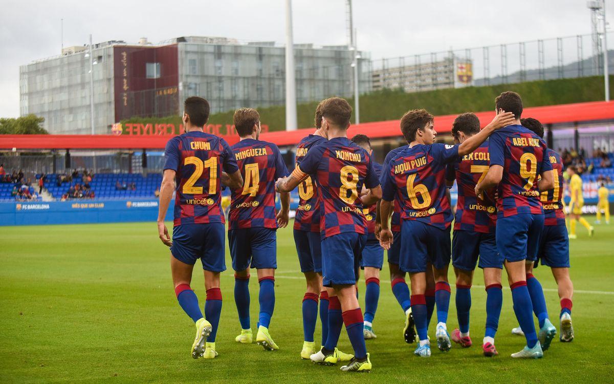 El Barça B de Garcia Pimienta desplega bon joc a l'Estadi Johan Cruyff - Paco Largo