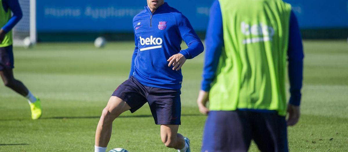 Rakitic, Arthur y De Jong, novedades en el entrenamiento