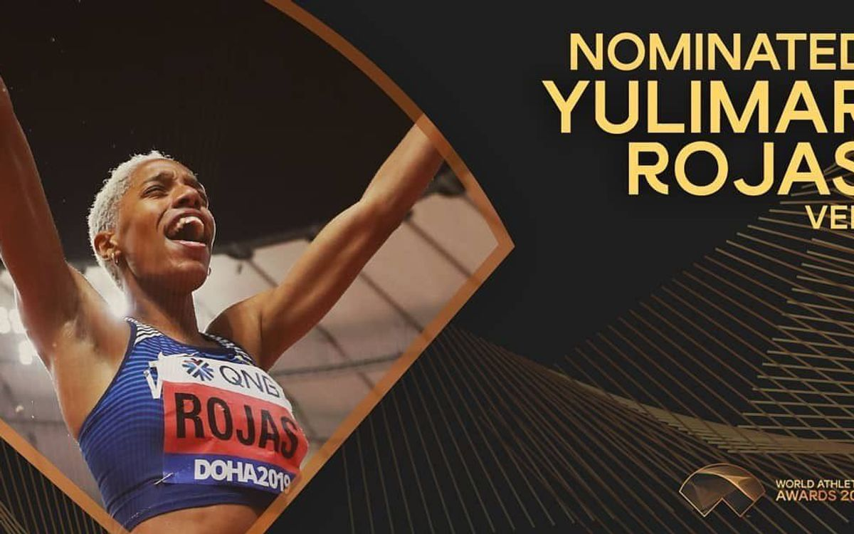 Yulimar Rojas nominada al World Athletics Awards