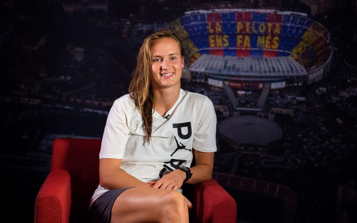 """Caroline Hansen: """"La Champions és molt especial"""""""