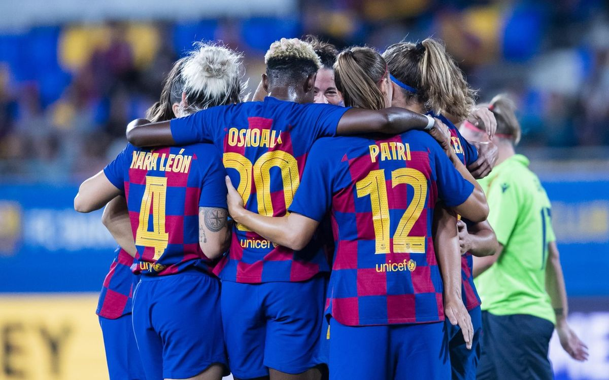 Barça Women win 5-0 against Minsk in the Champions League