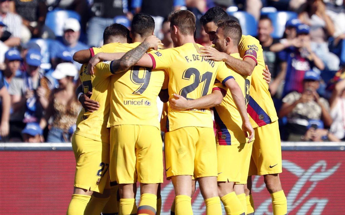 Eibar - Barça: Toca seguir con la imbatibilidad