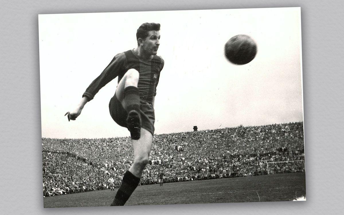 Hanke, en un partido con el FC Barcelona