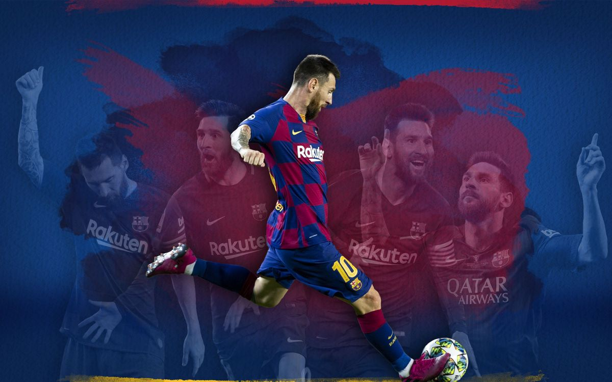 Messi inscrit son 50ème but sur coup franc