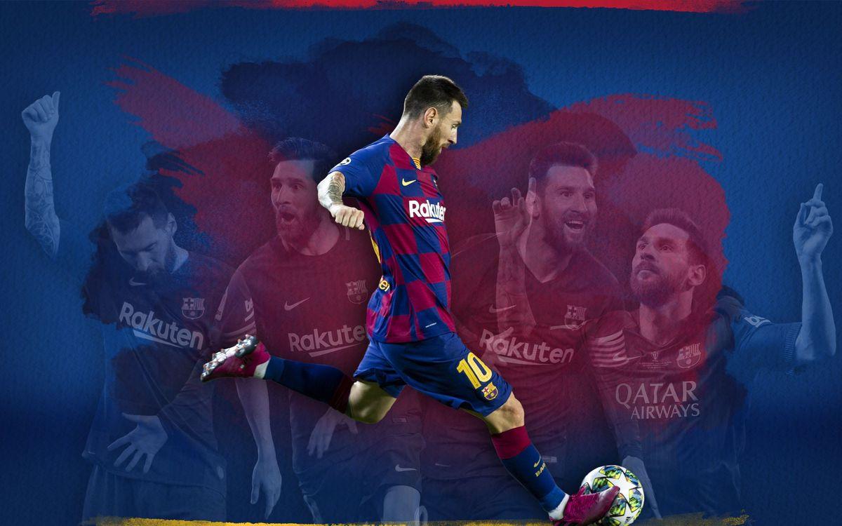 Messi, 50 goles de falta