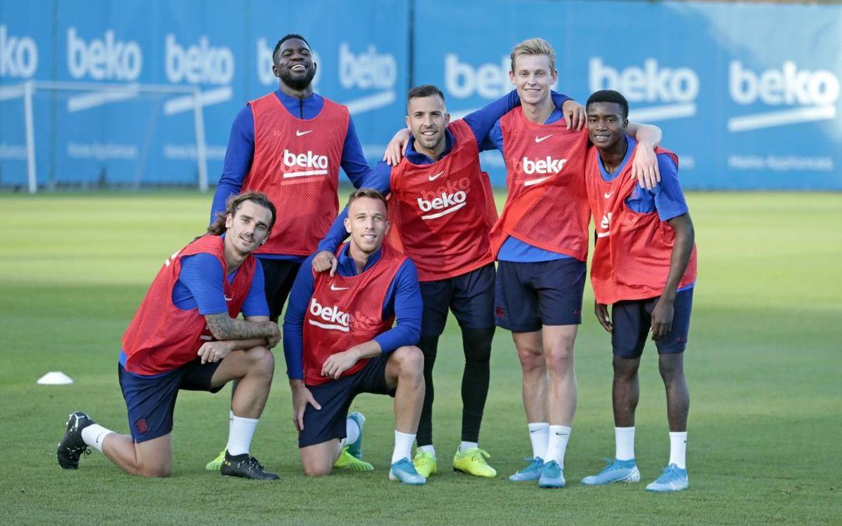 Le groupe du Barça convoqué pour Eibar