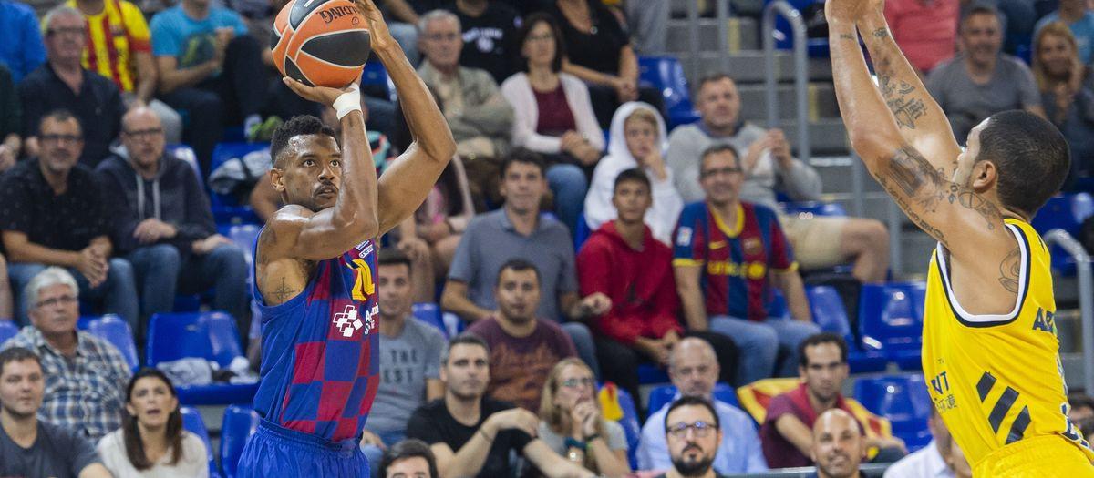Barça-Alba de Berlin: Triunfo sólido en el debut europeo en el Palau (103-84)