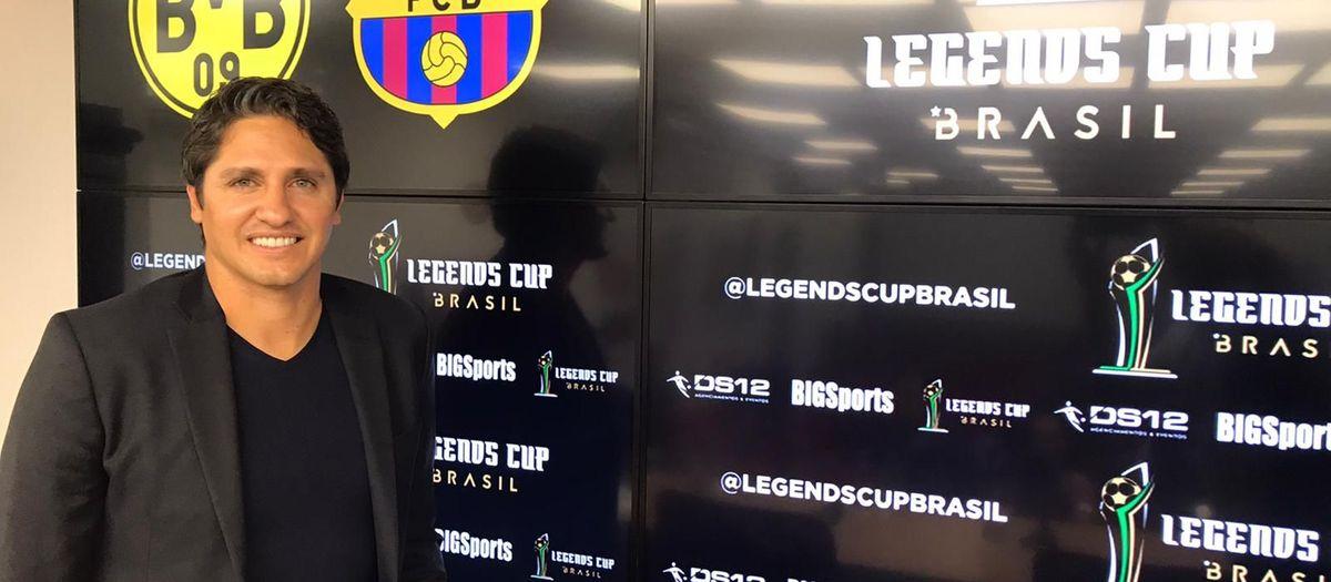 Los Barça Legends jugarán un cuadrangular en Sao Paulo el 15 de diciembre