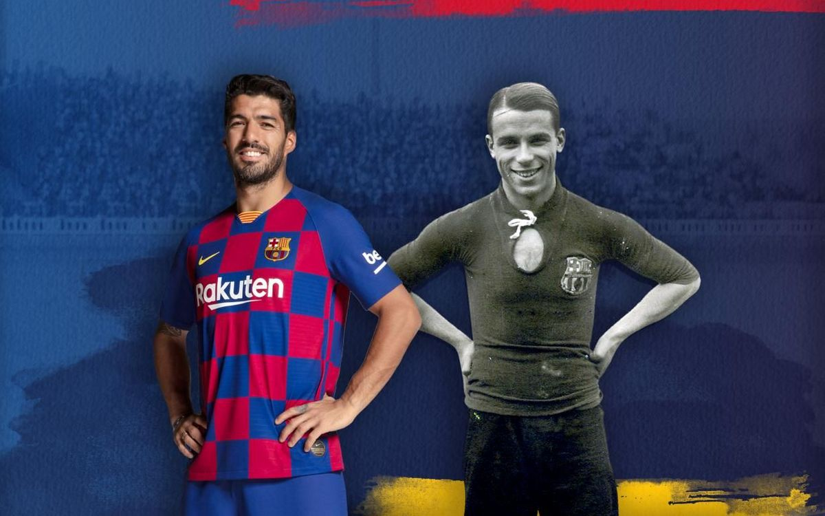 Luis Suárez equals Samitier on all time list