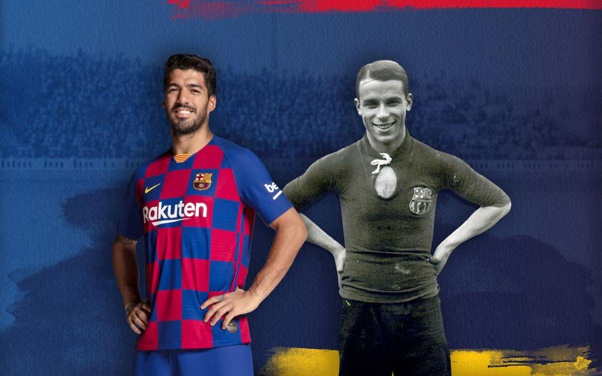 Suárez, 4ème meilleur buteur de l'histoire du Barça