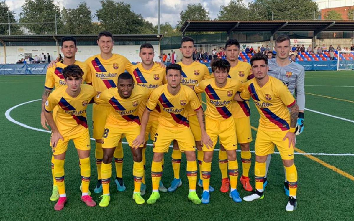 Llagostera-Barça B: Empate ante un robusto Llagostera (1-1)