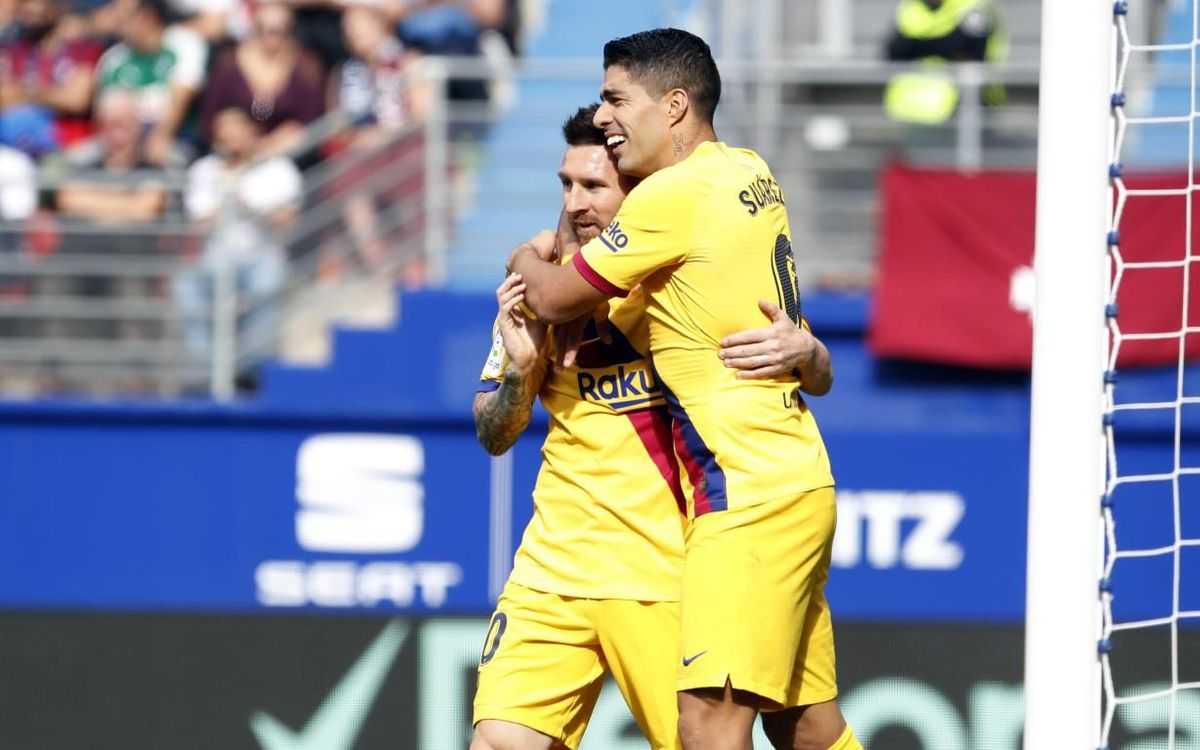 FC Barcelona's path to top spot in La Liga
