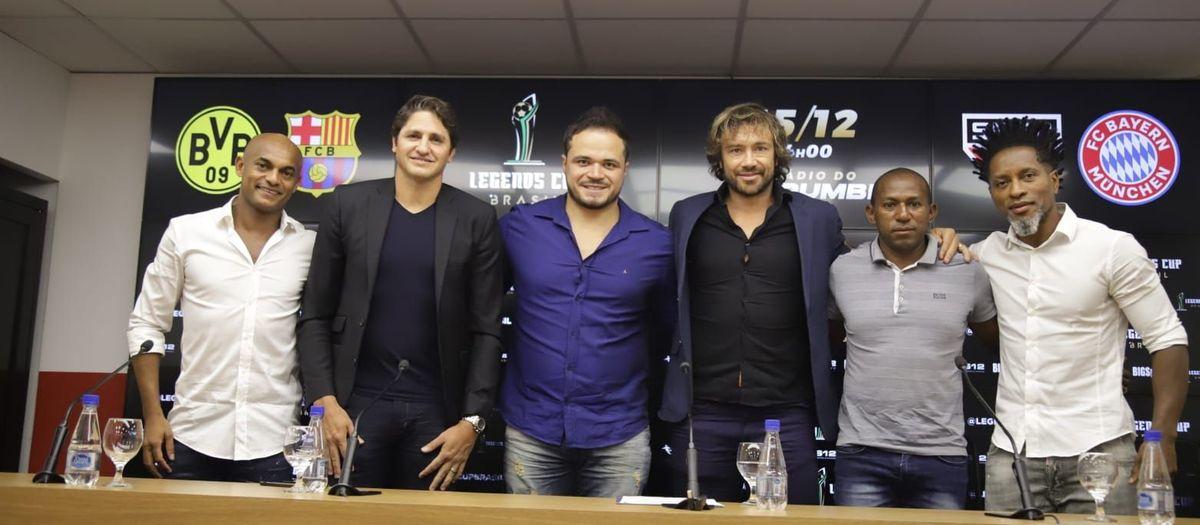 Els Barça Legends jugaran un quadrangular a Sao Paulo el 15 de desembre