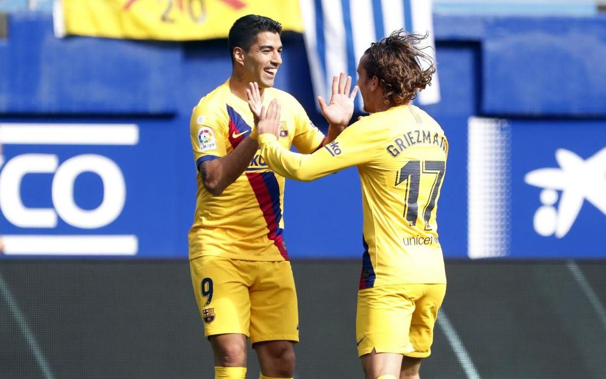 Eibar – Barça : Griezmann, le petit prince du Pays Basque (0-3)