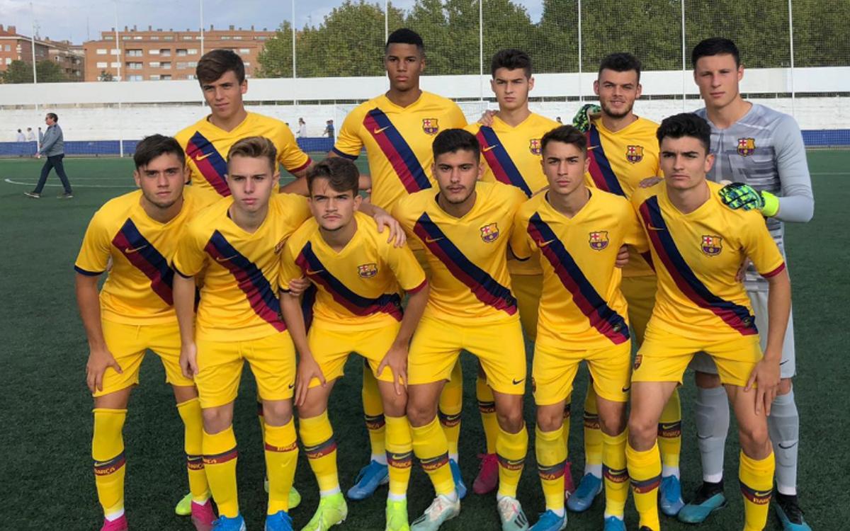 Huesca - Juvenil A: Solo les falta el gol (0-0)