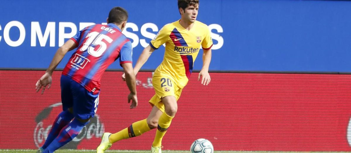 Sergi Roberto, blessé au ligament latéral interne du genou