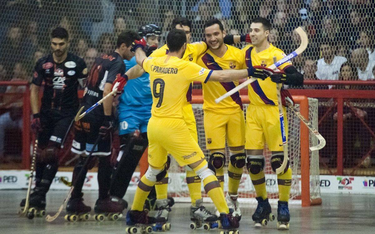 Hockey Sarzana 0 Barça 10: Big win to kick off European campaign