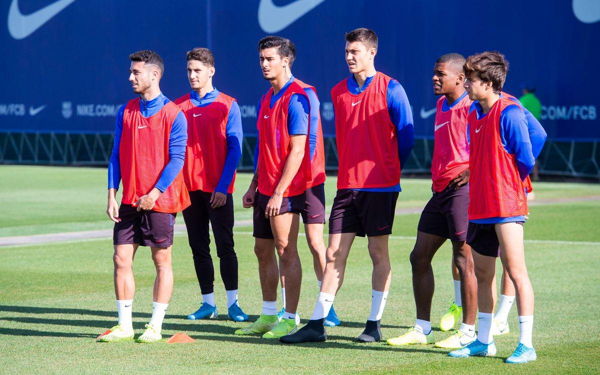 Llagostera - Barça B (previa): Quieren mirar hacia arriba