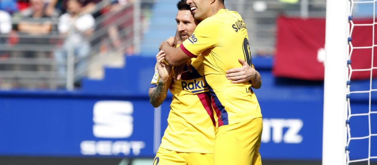Barça are out on their own