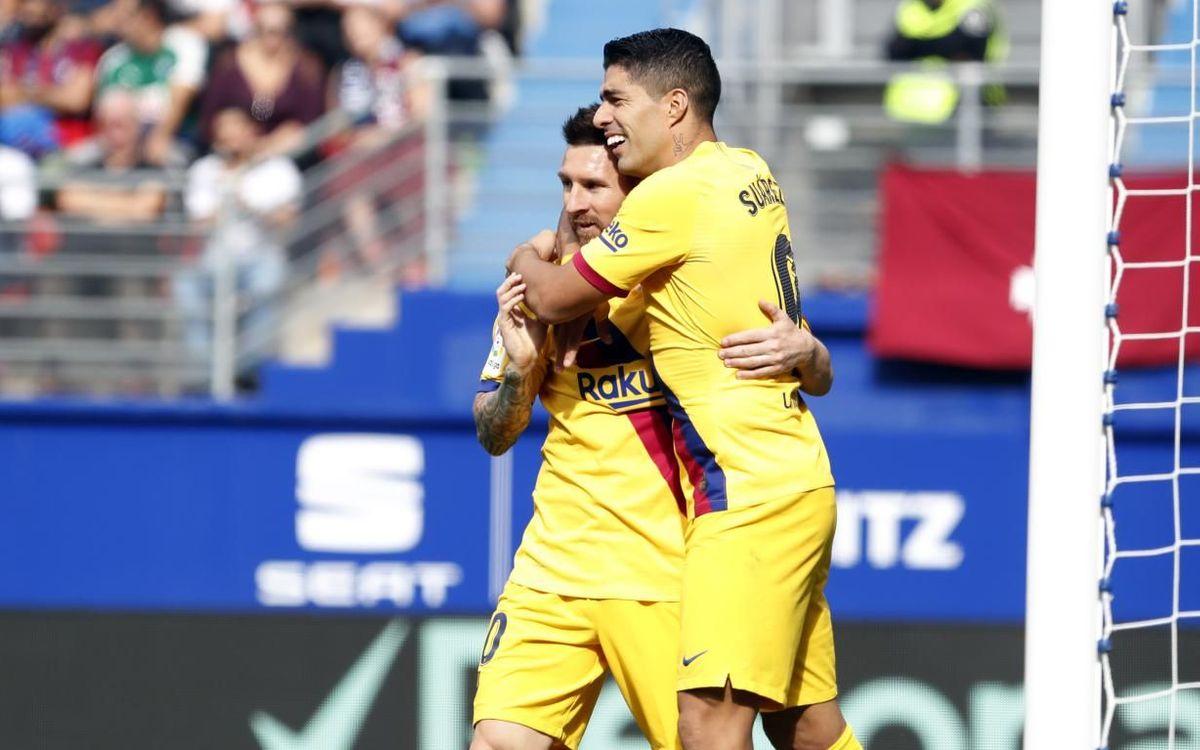 La evolución del Barça para llegar al liderazgo de la Liga