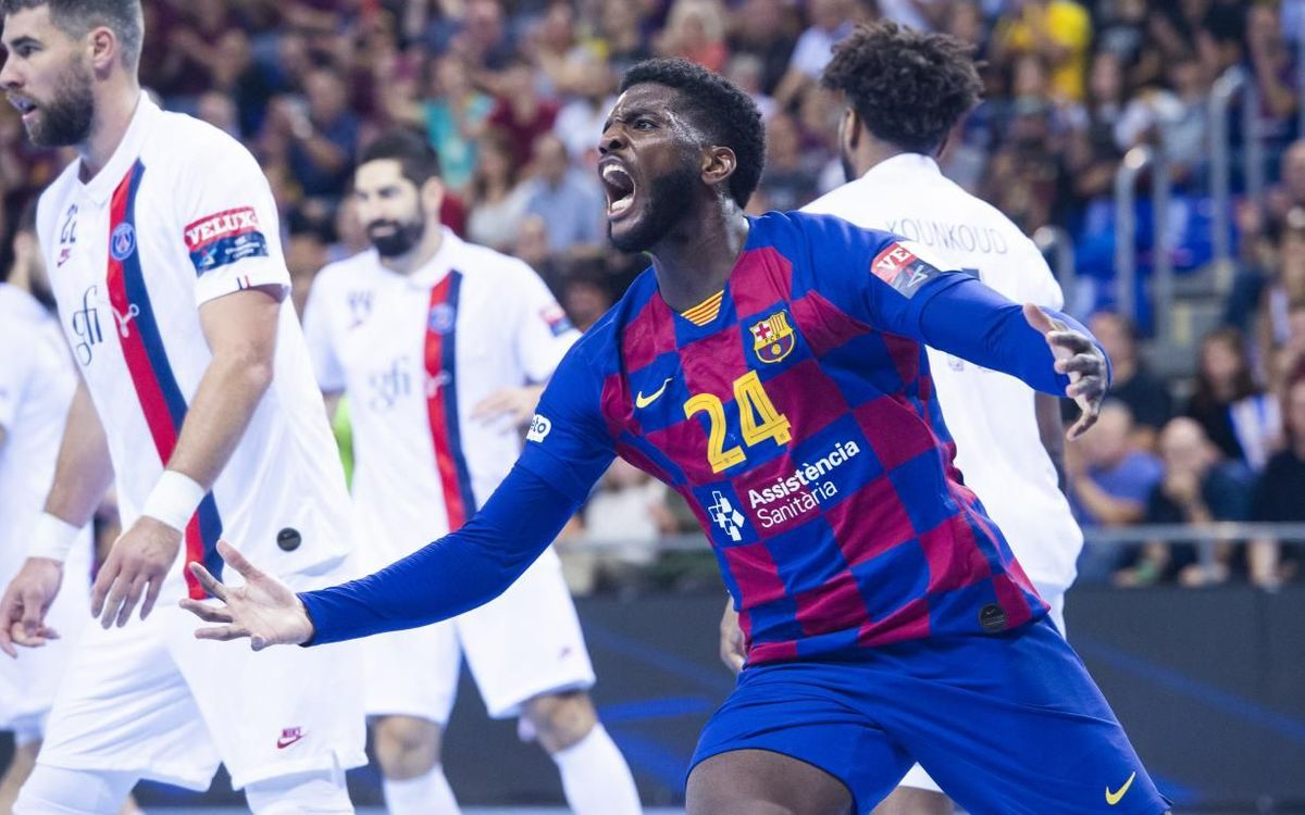Barça 36-32 Paris Saint-Germain: Prestigious win in Europe