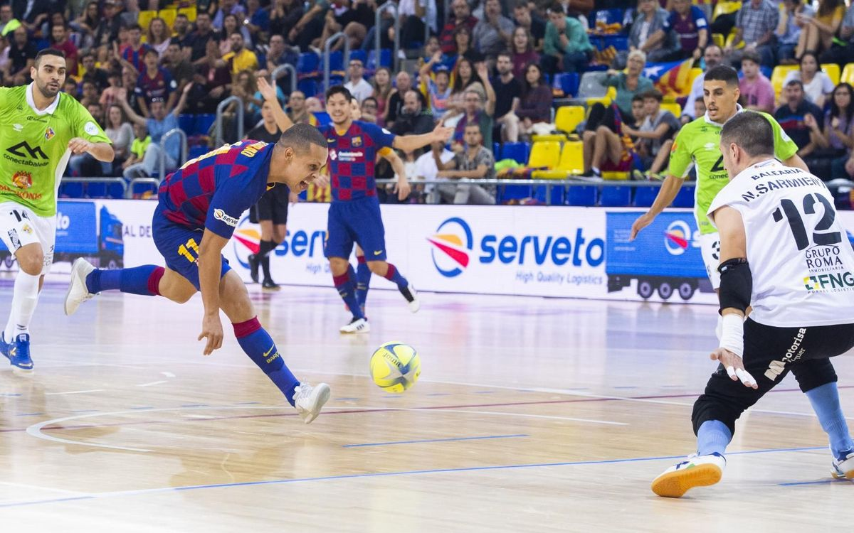 Barça - Palma Futsal: Tough defeat to take (2-3)