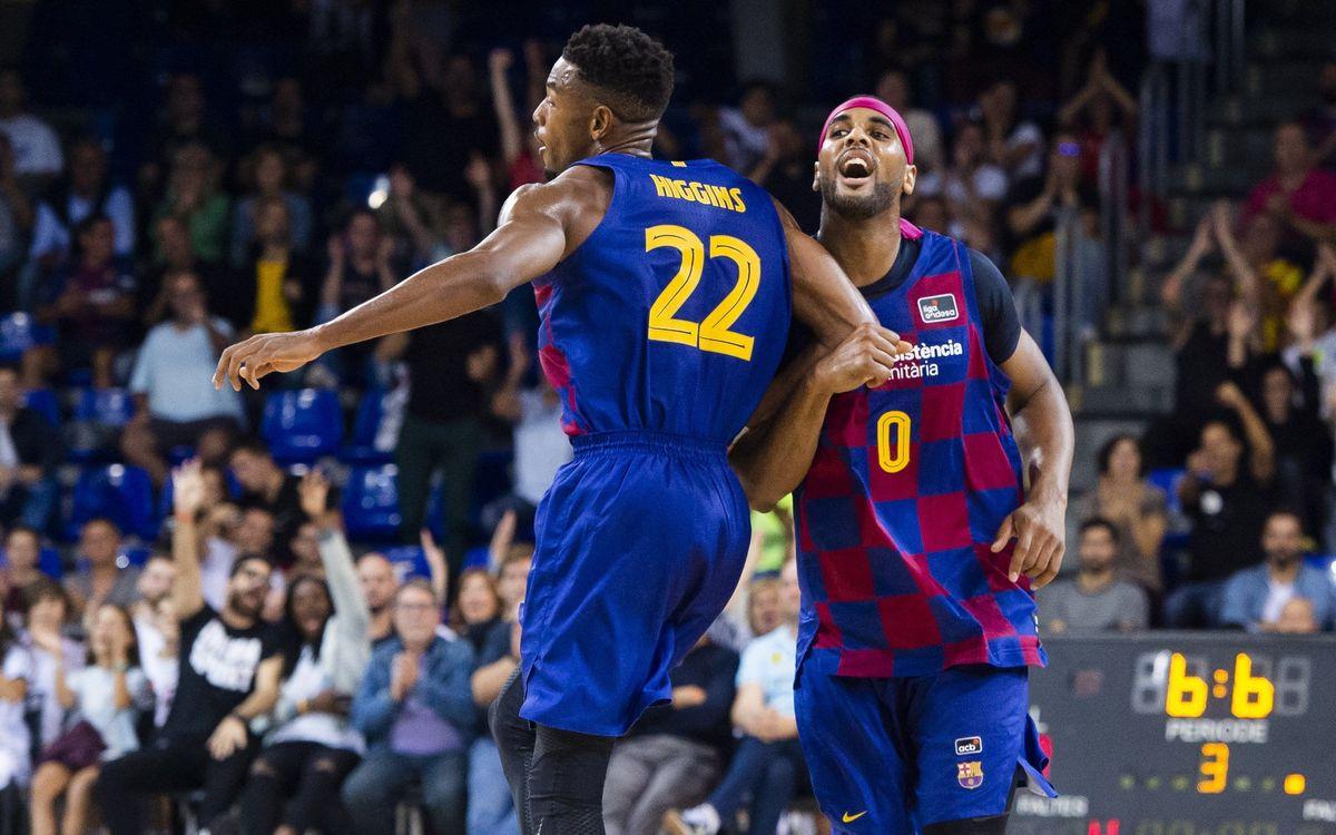 Barça-Gran Canaria: Se imponen desde la defensa (89-75)